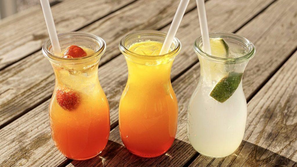 Chłodzące napoje podczas upału