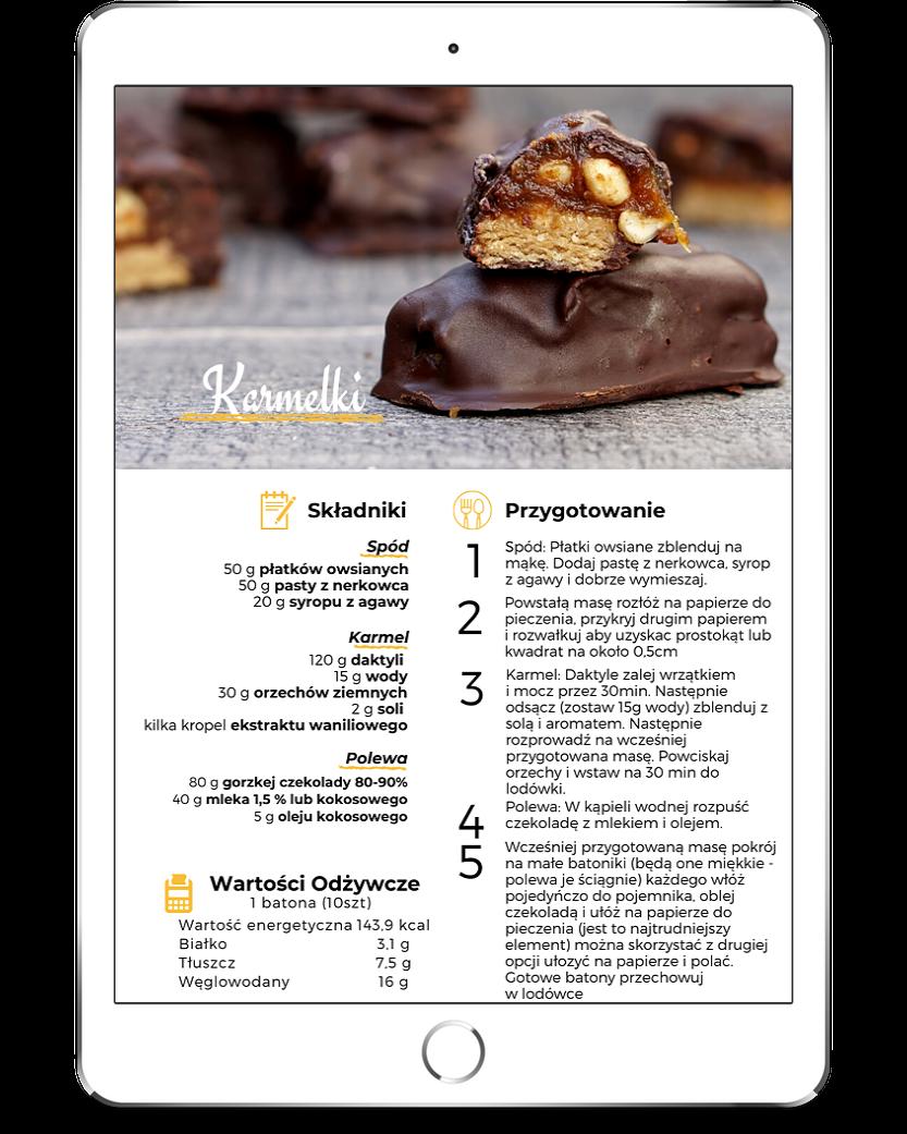 Kamelki - Przepis - Zdrowe słodycze
