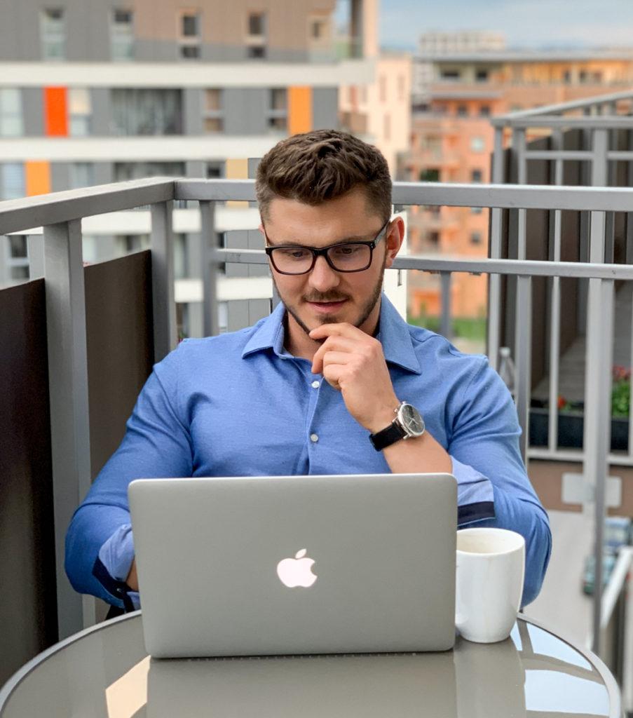Mariusz Janecki biznes trenera i dietetyka online